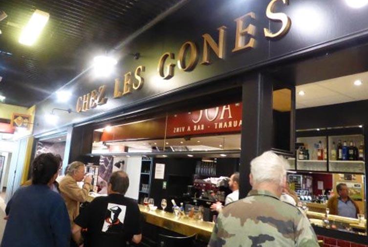 Chez Les Gones dans les Halles Paul Bocuse