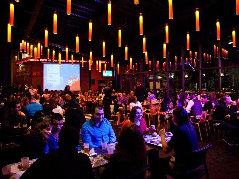 Ninkasi Gerland salle de repas