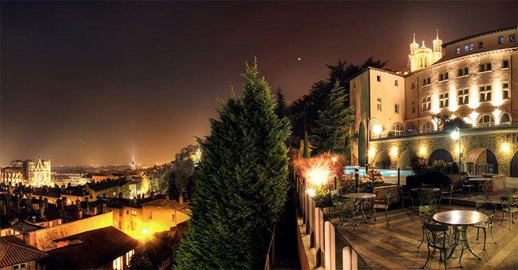 Vue extérieur de la Villa Florentine