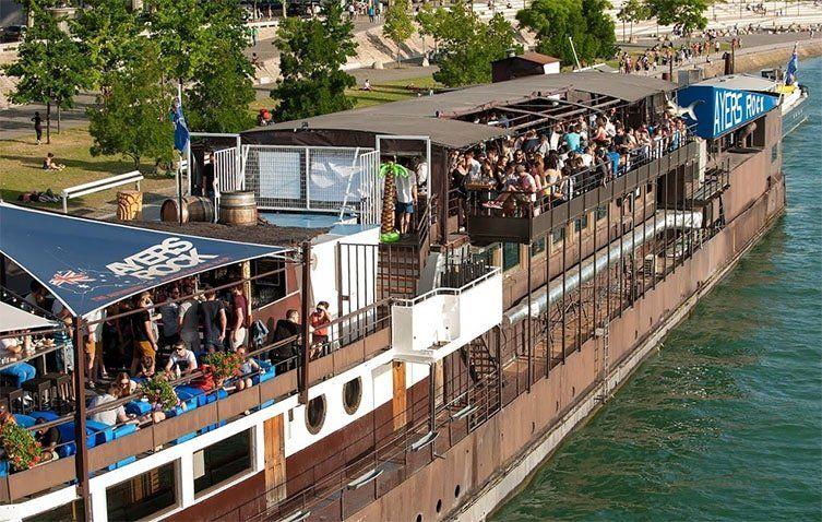 Peniche Ayers Roack boat à Lyon