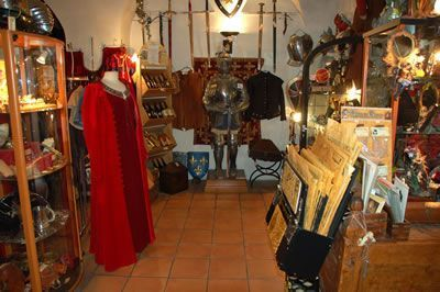Intérieur de la boutique Mandragore