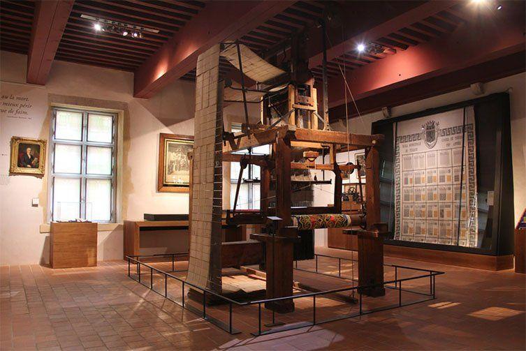 Machine à tisser du Musée Gadagne