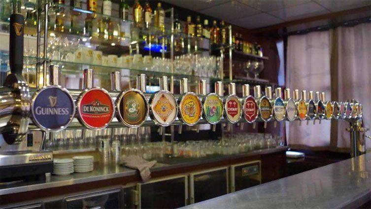 Tireuses à bière du Palais de la Bière de Lyon