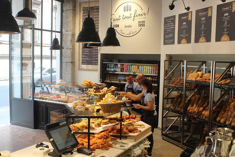 Comptoir de la boulangerie Saint Paul chez Jules