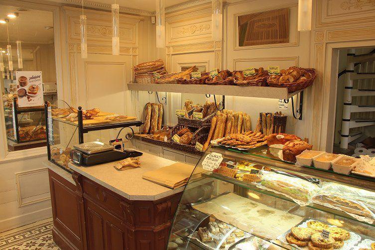 Pains et croissants de la boulangerie Saint-Vincent