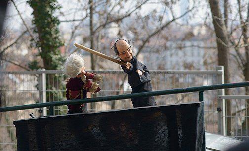 Visite du vieux Lyon avec des marionettes