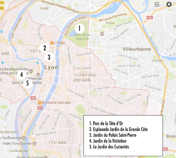 Parcours Nature à Lyon