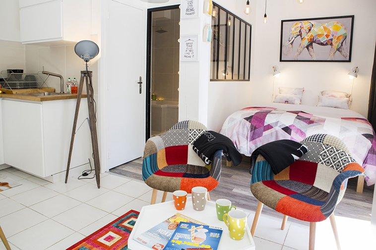Vue d'ensemble de l'appartement