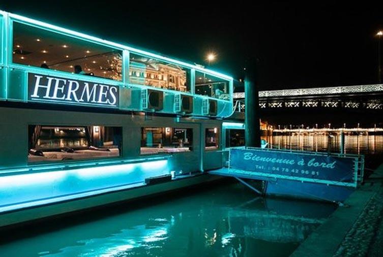 Le bateau Hermes