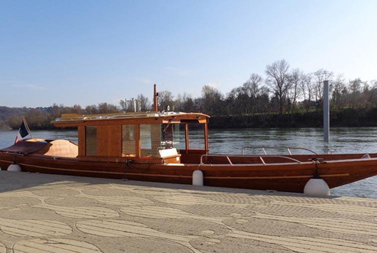 Le Bateau canotiers