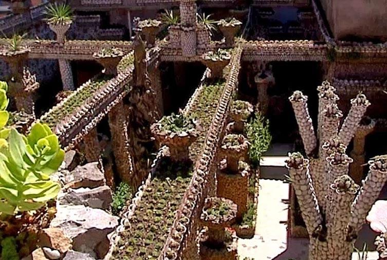 Vu de dessus dur Jardin Rosa Mir