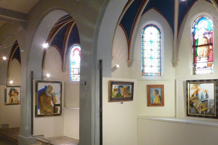 Oeuvres du musée d'arts religieux de Fourvière