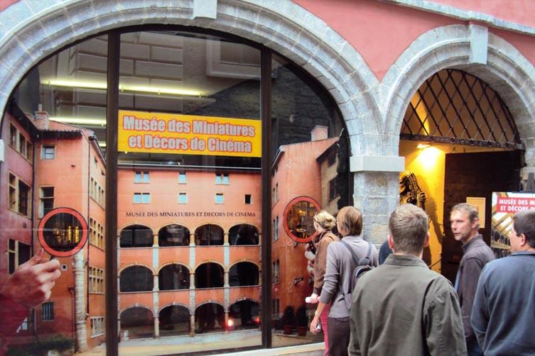 Entrée du musée des miniatures et du cinéma