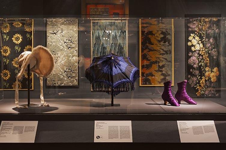 Oeuvres du musée des tissus