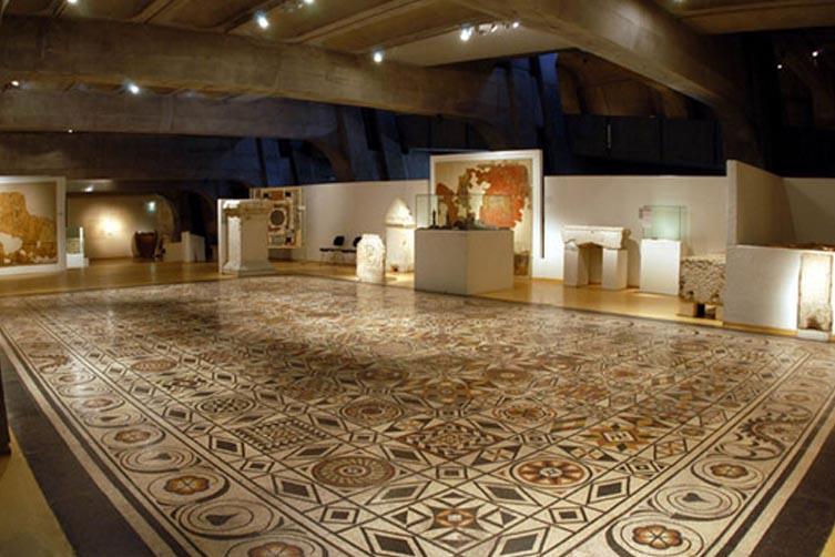 Salle du musée gallo romain
