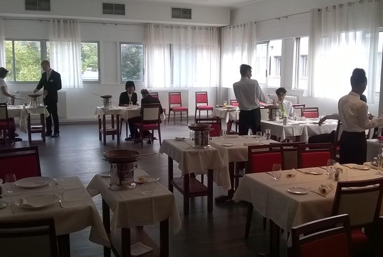 Salle du restaurant hélène boucher